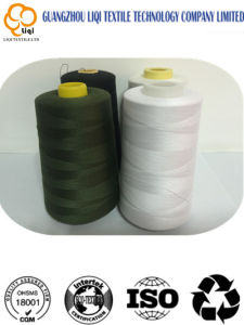 China 100 Spun Polyester Sewing Thread on Cone pictures & photos