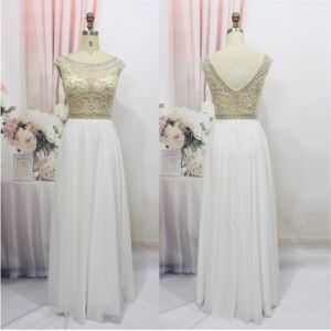 D1183 Workhand Beaded Sexy High-End Evening Dresses pictures & photos