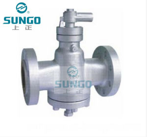 Wcb Material Lubricated Plug Valve pictures & photos