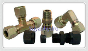 Tee Forged Fittings with Female Adjustable Connector pictures & photos