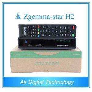 Zgemma Star H2 Hybrid DVB-S2+T2 Tuner Satellite Receiver pictures & photos