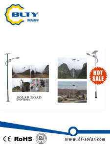 High Lumen 30W Solar Street Light with 6m Pole pictures & photos