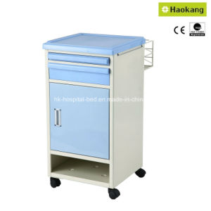 Coated Steel Plate Bedside Cabinet (HK-N602) pictures & photos