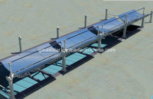 Solar Thermal Collector Parabolic Trough Used for High Temperature Steam pictures & photos