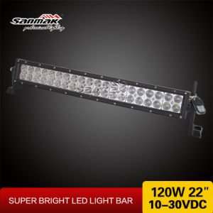 CREE 8400 Lumens Double Row Curved LED Light Bar (SM6029F-120W) pictures & photos