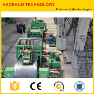 Steel Sheet Shearing and Slitting Machine Metal Sheet Slitting Machine Line Steel Coil Cut to Length Line pictures & photos