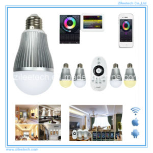 LED Ball Bulb Pixel Light E27 9W WiFi White Dimmer