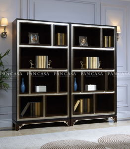 High Quality Classical Wooden Furniture Living Room Bookcase (MS-A6022) pictures & photos
