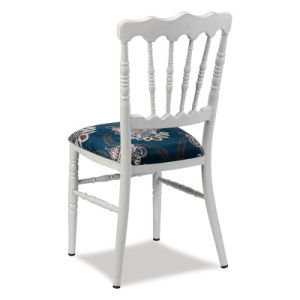 Aluminum Fixed Cushion Wedding Napoleon Chair pictures & photos