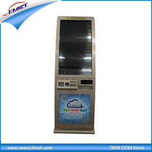2016 Promotion Vending Ticket Printer Touch Screen Kiosk pictures & photos