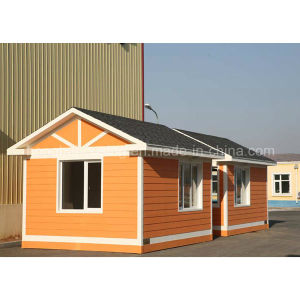 Comfortable Prefabricated House Sandwich Panel With1 Room Living Container pictures & photos