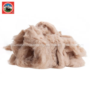 Combing/Carded Yak Wool/Cashmere/Camle Wool Fabric/Textile/ Wasted Raw Material pictures & photos