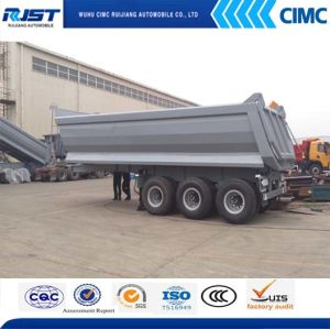 3 Axle Tipper Semi-Trailer pictures & photos