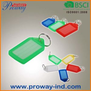 Hot Sales Cheap Colorful Plastic Key Tags (KT-62) pictures & photos