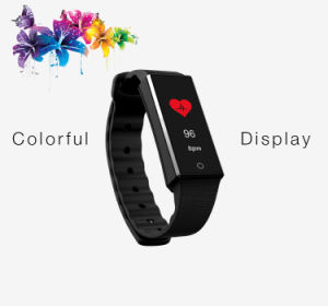Bluetooth Smart Bracelet with Heart Rate Monitor and Waterproof Z4 pictures & photos