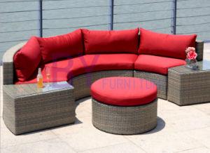 by-441 Courtyard Balcony Garden Style Semi Circular Sofa pictures & photos