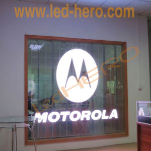 Transparent LED Display for Advertising Building Wall