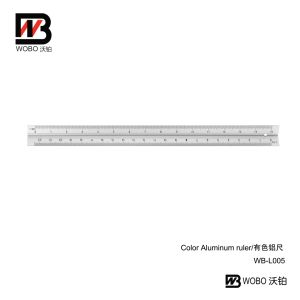 2 Color Aluminum Ruler for Office Stationery 2016 pictures & photos