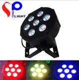 Stage Equipment Disco Light 7*10W 4-in-1 RGBW Flat PAR Light
