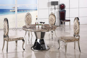 Modern Design Rotate Marble Round Table for Sale