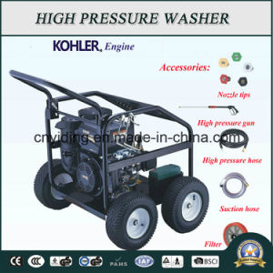 CE Gasoline 170bar Medium Duty Pressure Washer (HPW-QK605K) pictures & photos