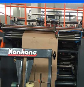 Roll Fed Fully Automatic Paper Bag Machine With Twist Handle (WFD430) pictures & photos