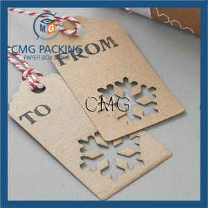 Recycled Lasercut Snowflake Gift Tags pictures & photos