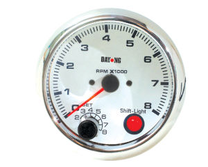 "3 3/4"" (95mm) Tachometer for Single Color LED Tachometer (8040SSC) pictures & photos"