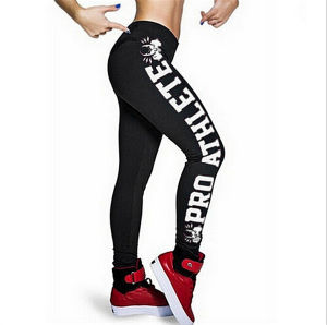 Fashion Printed Words Sport Pants (20202-1) pictures & photos