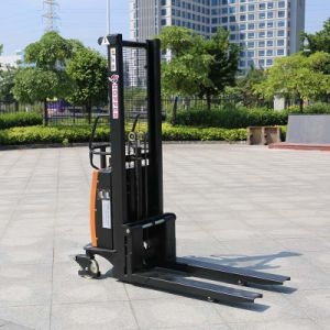 Ce Approved Battery Powered Electric Reach Forklift (CDSD10) pictures & photos