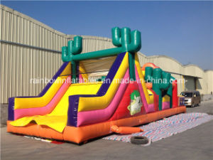2016 New Style Castle Bouncer Obstacle Inflatable Obstacle Course pictures & photos