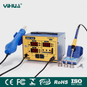 Yihua 882D Hot Air Soldering Rework Station pictures & photos