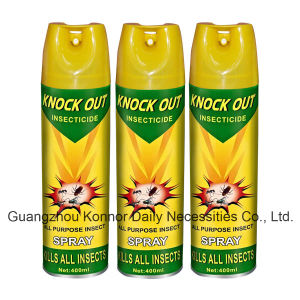 Knock out Tinplate 400ml Oil Based Aerosol Insecticide Spray pictures & photos