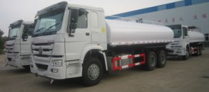 HOWO Water Truck 20, 000L Tanker, 6X4 Drive, 290HP pictures & photos