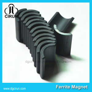 Permanet Arc Shape Y30bh Ferrite Motor Magnet pictures & photos
