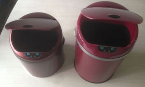 Luxary Stainless Steel Automatic Sensor Trash Can pictures & photos