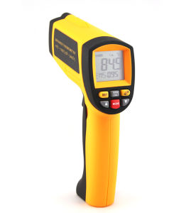 Handheld IR Industrial Infrared Thermometer with Laser pictures & photos