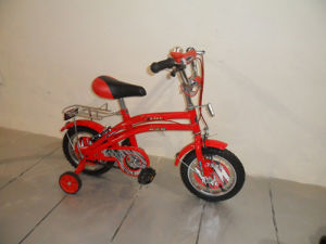 Red with Carrier Children Bicycle pictures & photos