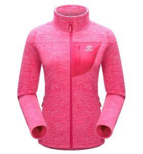 Ladies Zipper-up Polar Fleece Jacket with Pocket pictures & photos