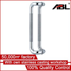 Ablinox Stainlesss Steel Glass Door Handle Pairs H-11 pictures & photos