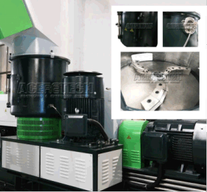 Heavy Printed Plastic Bags/Films Recycling and Pelletizing Machine pictures & photos