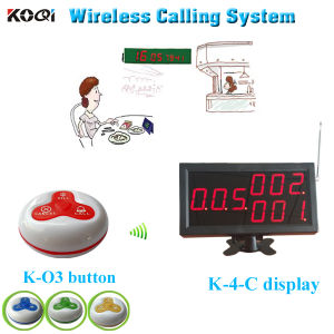 Wireless Guest Calling System Professional for Restaurant with Factory Price From Koqi Factory pictures & photos