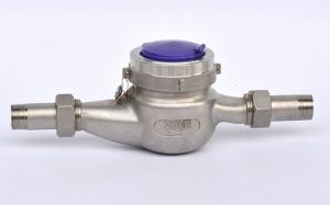 Ss 304 Stainless Steel Water Flow Meter in Size 15-40mm pictures & photos