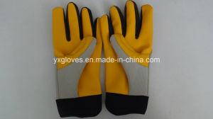 Mechanic Glove-Protective Glove-Leather Glove-Gloves-Working Leather Glove-Work Glove pictures & photos