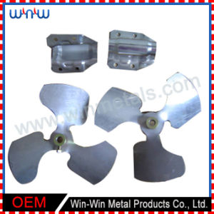 Fan Machine Parts Fabrication Bracket Pressed Punched Metal Stamping Parts pictures & photos