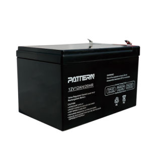 12V12ah Inverter/Solar/UPS/Lead Acid Battery with RoHS/CE/Soncap