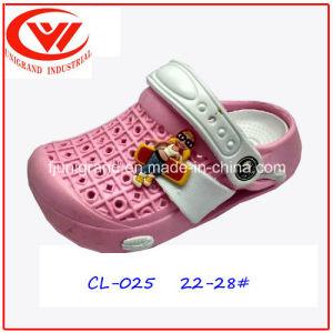 Kids Lightweight Garden Shoes Fancy EVA Clogs for Children pictures & photos