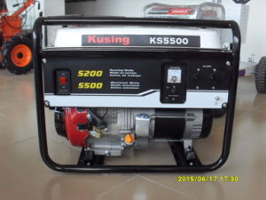 5500 Watt Portable Gasoline /Petrol Generator pictures & photos