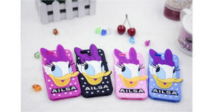 3D Cartoon Donald Duck Silicone Case for Huawei P8 P9 Galaxy J5 J7 Phone Accessories (XSD-041) pictures & photos