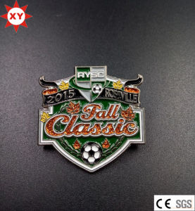 Custom Sport Metal Badges with Pin pictures & photos